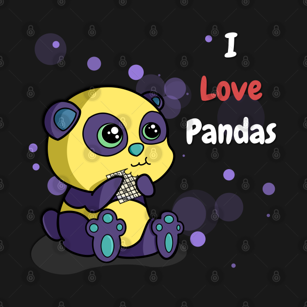 I Love Pandas | Python Dusk White