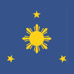 Philippines Sun and Stars by AiReal Apparel T-Shirt