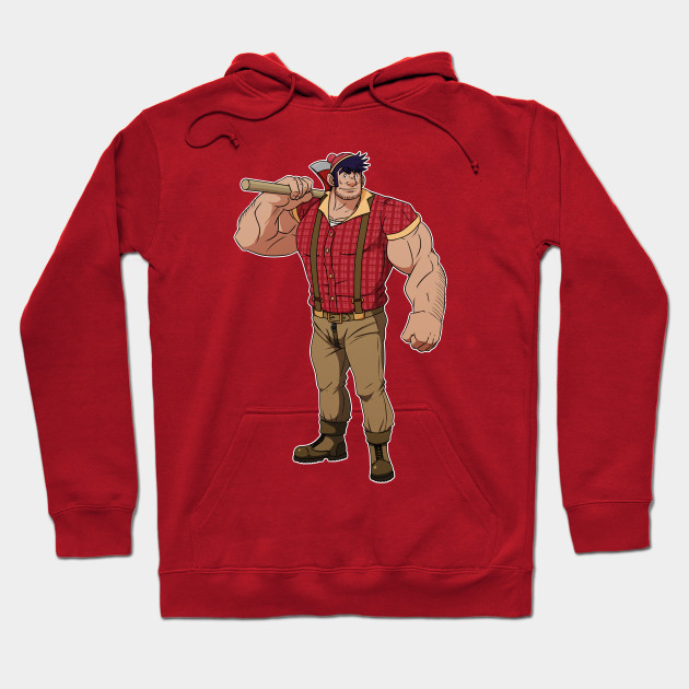 Paul Bunyan (no background) Hoodie