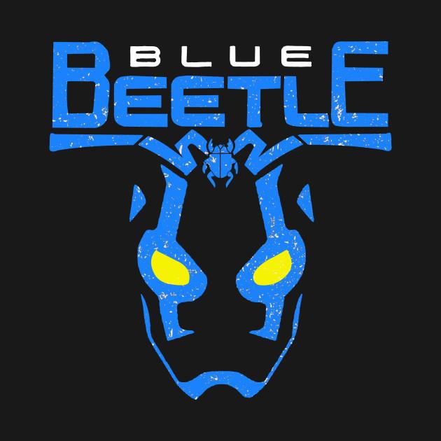 blue hermano beetle
