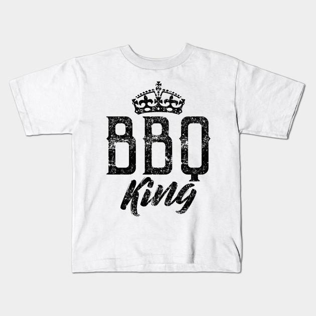 dd1251e3 BBQ Barbeque King - Grill Barbeque Bbq Master - Kids T-Shirt | TeePublic