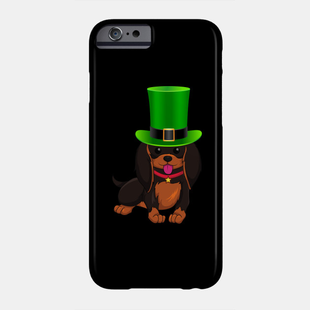 Dachshund St Patrick's Day Ireland Leprechaun Hat - Gift For Dachshund Owner Weiner,Saint Patrick's Day, Irish,Ireland ,Leprechaun,Hat Lover Phone Case