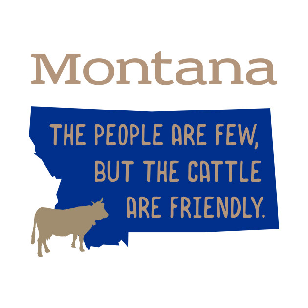 Montana and the Friendly Cattle