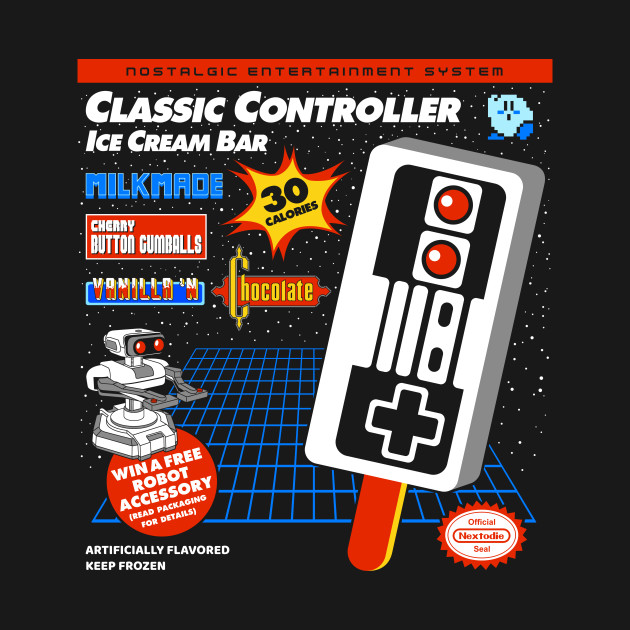 Classic Controller Ice Cream Bar