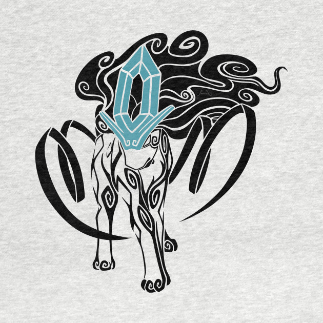 Tribal Suicune - Black