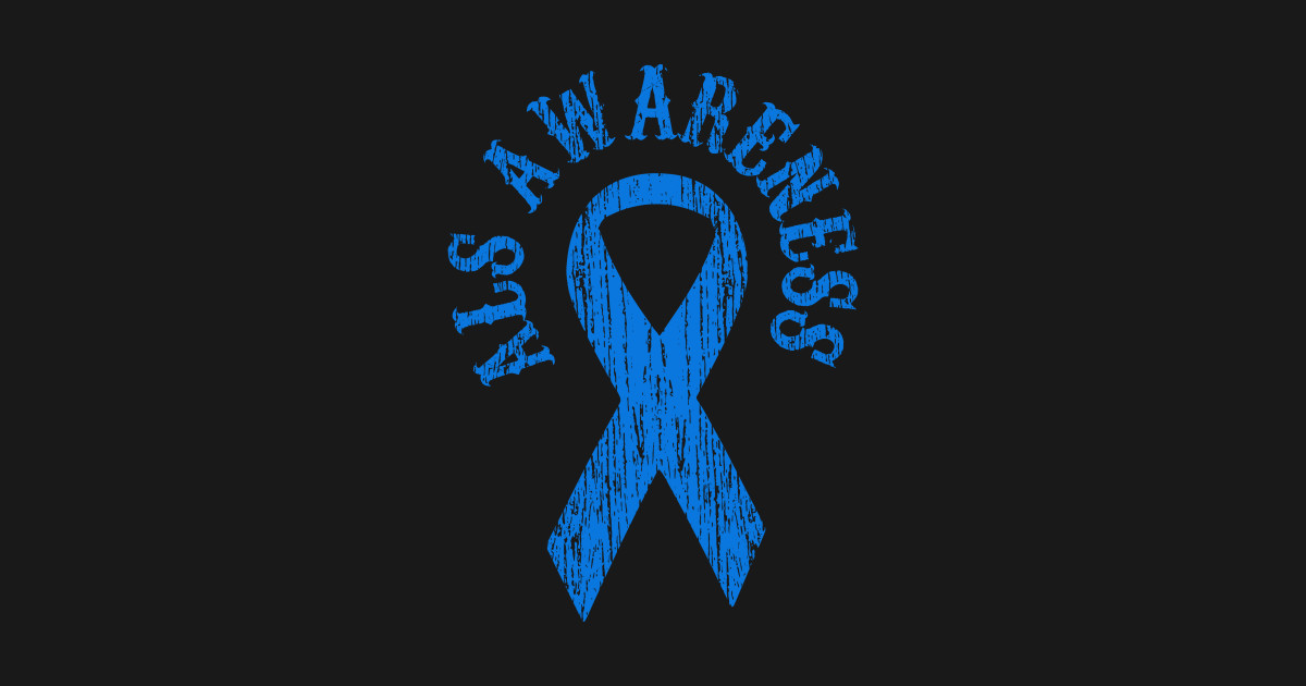 ALS Awareness Month Blue Ribbon Family by forward