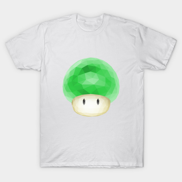 78a057ef Super Mario 1 UP Green Mushroom - Super Mario - T-Shirt   TeePublic