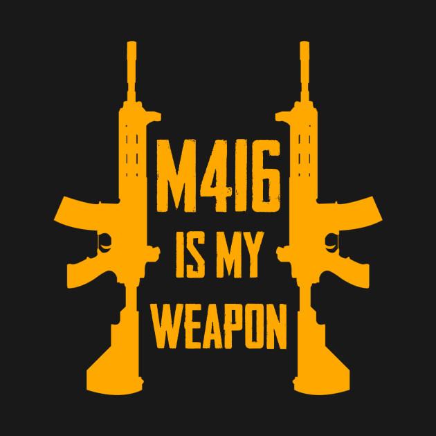 Pubg M416 Pubg T Shirt Teepublic