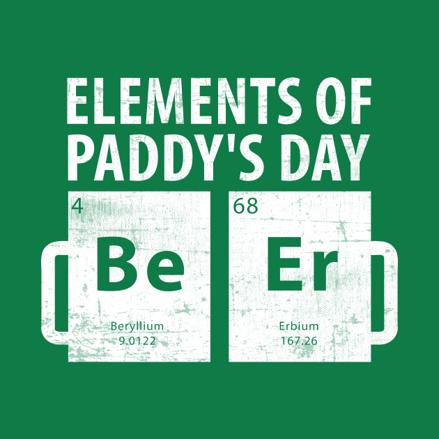 State Patty's Day T-Shirt - Elements Of Paddys Day