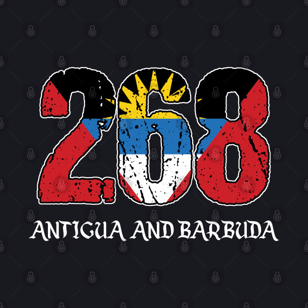Antiguan And Barbudan Caribbean Country Saint Johns Gift 268 Antigua & Barbuda