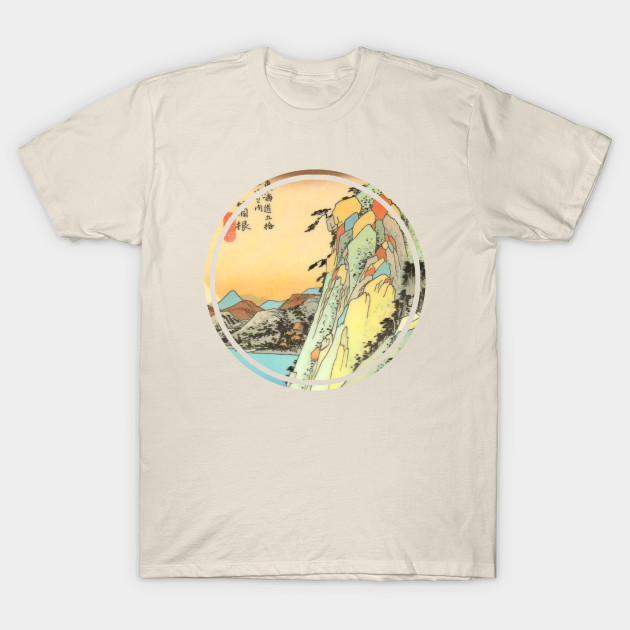 4467385b7 Japanese mountain painting - Japanese - T-Shirt | TeePublic