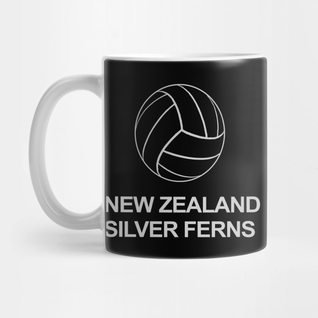 048294ea1db New Zealand Silver Ferns Netball World Cup design - New Zealand ...
