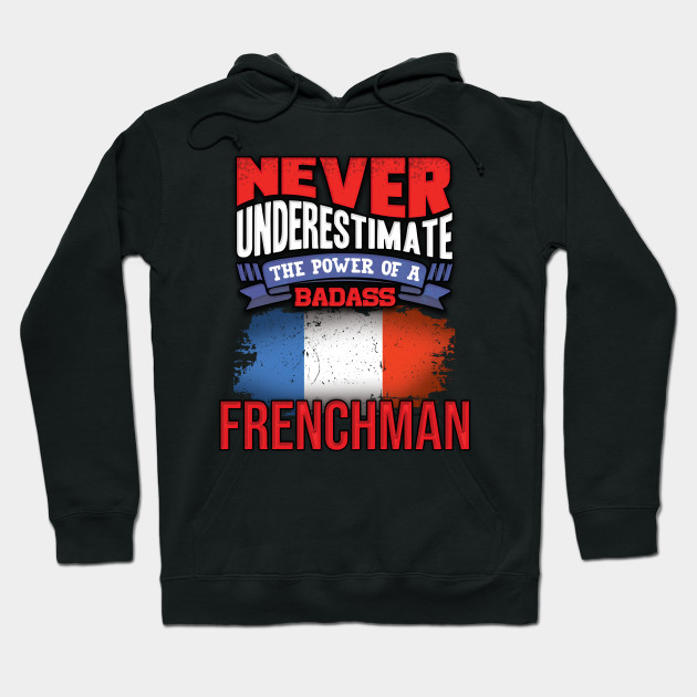 Never Underestimate The Power of Frances Hoodie Black