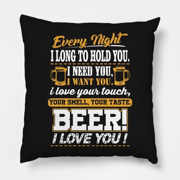 Beer I Love You Funny Quotes Apparel
