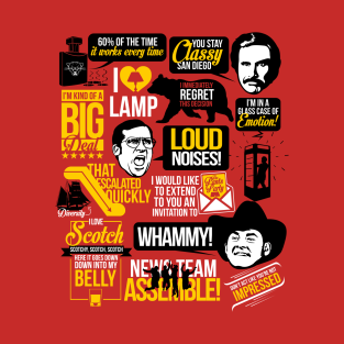 Anchorman Quotes | Red t-shirts