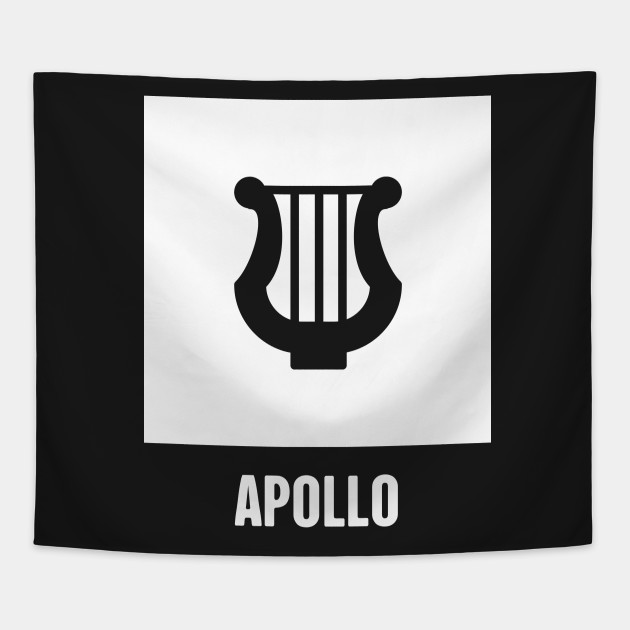 Apollo Greek Mythology God Symbol Greek Mythology Tapestry