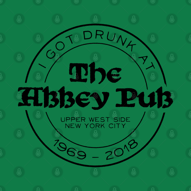 Abbey Pub - R.I.P. Stamp