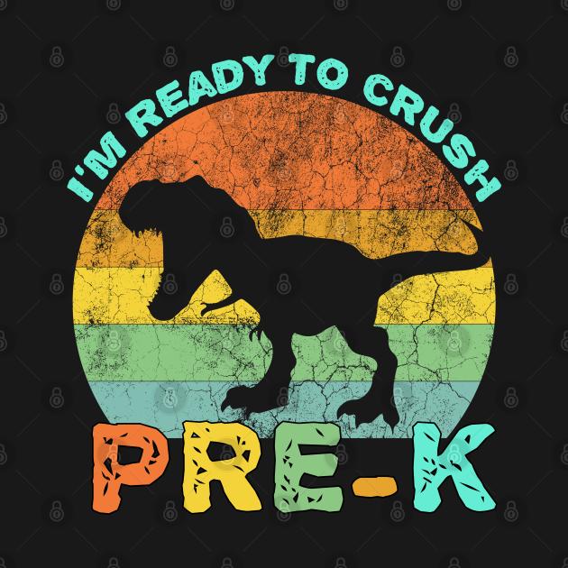 I'm ready to crush pre-k