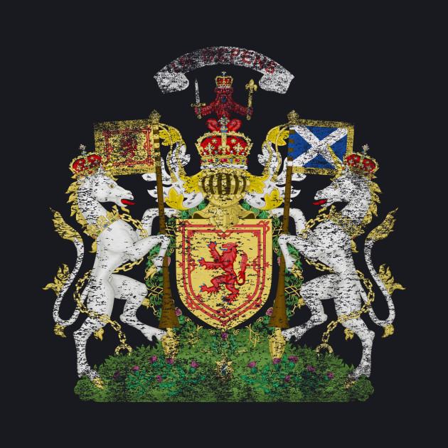 Scottish Coat of Arms Scotland Symbol