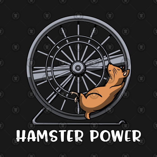 Hamster Wheel Funny Mouse Pet Lover Gift