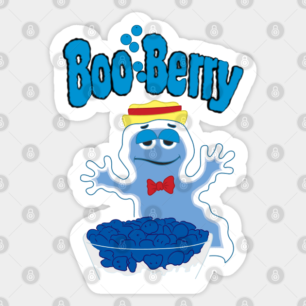 Boo Berry Boo Berry Sticker Teepublic In the holiday spirit, we took our classic blue berry muffin recipe, and added loads of boo berry cereal to the mash. boo berry