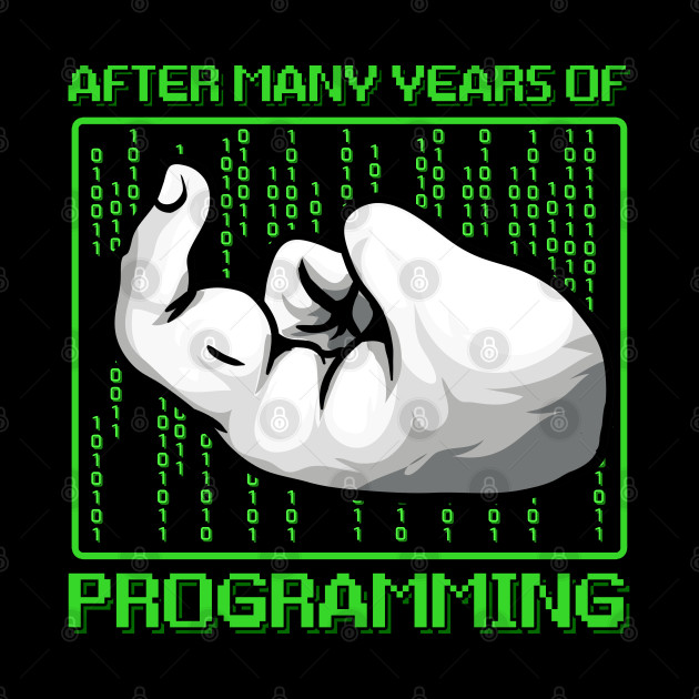 After Many Years Of Programming Funny Computer Programmer