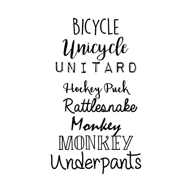 Gilmore Girls - Bicycle Unicycle