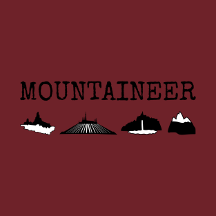 Ultimate Mountaineer t-shirts
