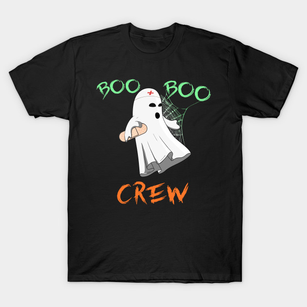 Boo Boo Crew Nurse Ghost Idea Squad Party Gift Cute