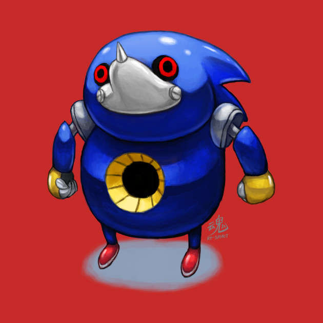 Sonic The hedgeblog - Higher resolution sprite artwork of Metal ...