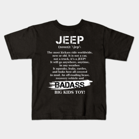 2122d6def44 Jeep Gifts For Men Kids T-Shirts