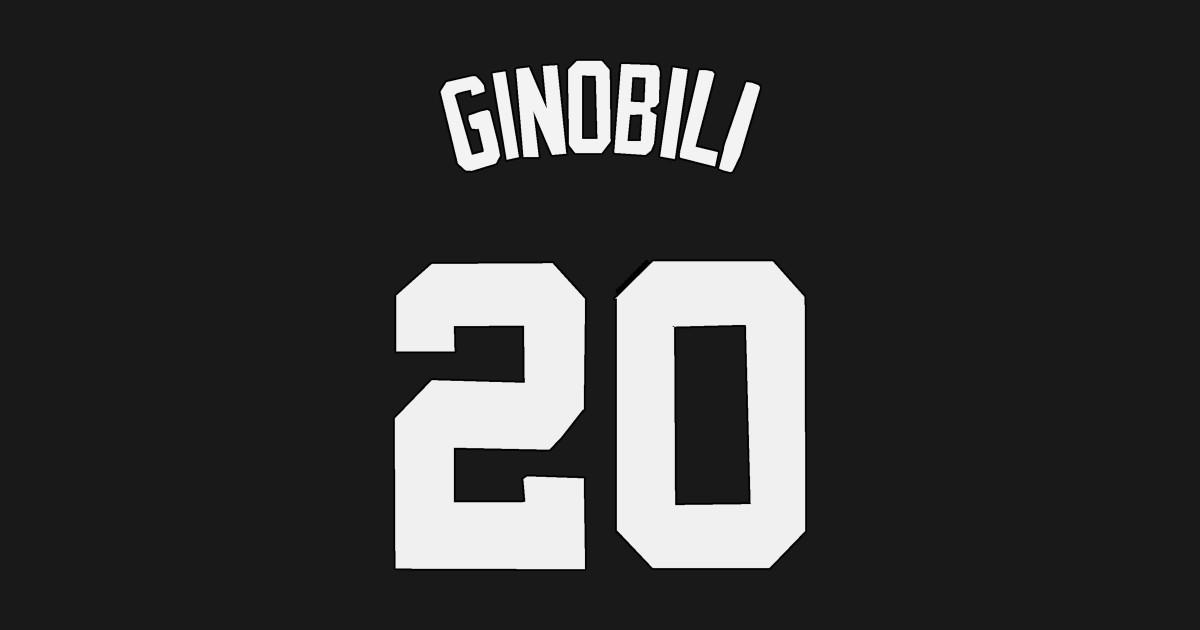 check out 95e95 01a4a Manu Ginobili Jersey - San Antonio Spurs by xavierjfong