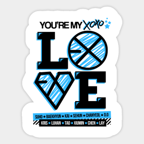 Xiumin Stickers   TeePublic