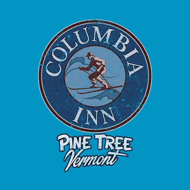 Columbia Inn - Pine Tree Vermont (distress)