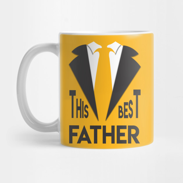 Great Father's Day T-Shirt Best Dad Ever Mug