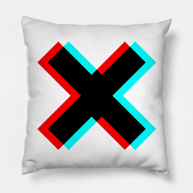 Glitch of X letter