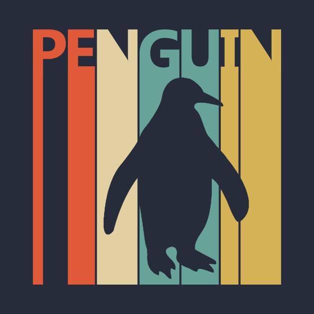Vintage Retro Penguin Gift