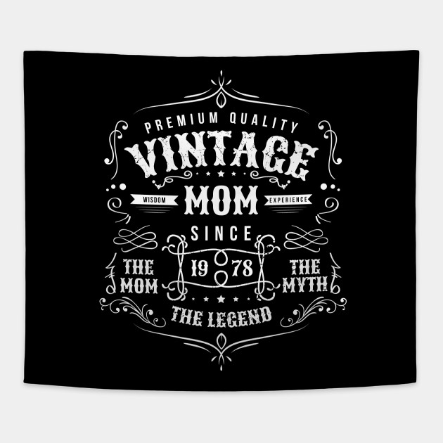 Vintage Mom Born 1978 Shirt