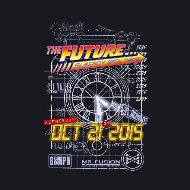 The Future... Already Been There! Oct 21st 2015
