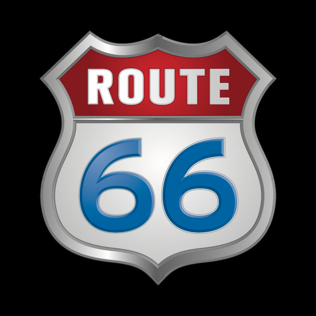 Route 66 Silver Lining Route 66 Pillow Teepublic