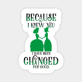 Wicked Musical Quotes Magnets Teepublic