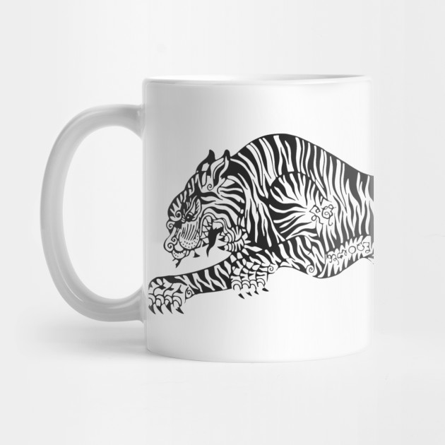 Traditional Tiger Tattoo Tiger Tiger Tattoo Mug Teepublic