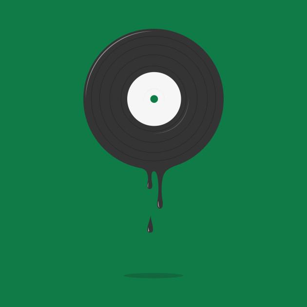 vinyl melting