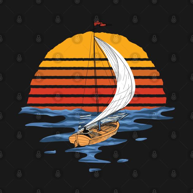 Vintage Sailing Boat Gift