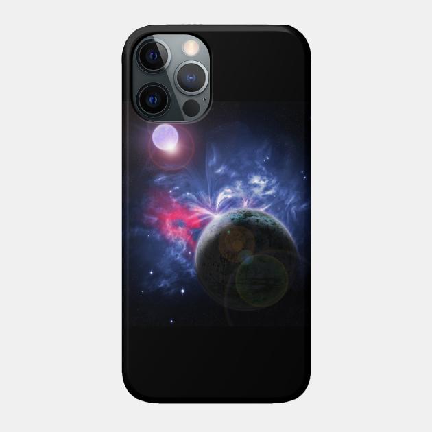 Butterfly Nebula Space