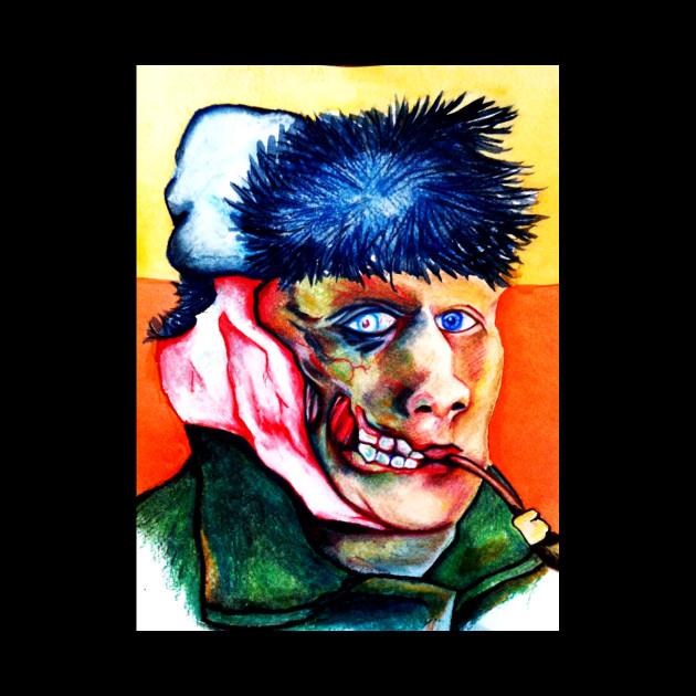 Zombie Van Gogh