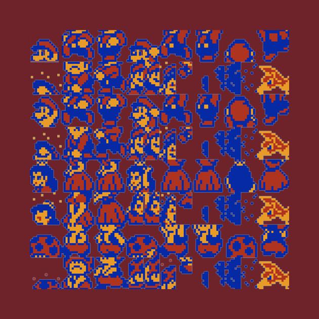 Super Mario Brothers 2 Glitch