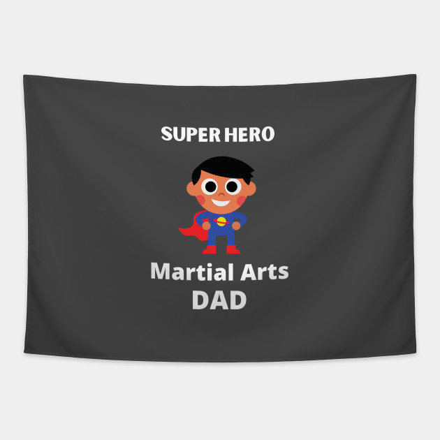 martial arts dad superhero