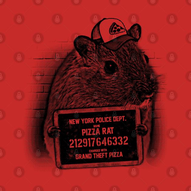Pizza Rat Mugshot NYPD