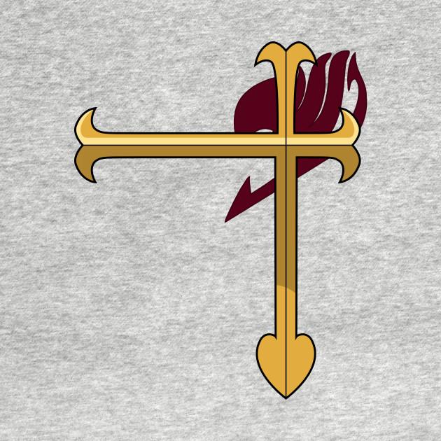 Erza Scarlets Heart Kreuz Armor Symbol Fairy Tail Tank Top